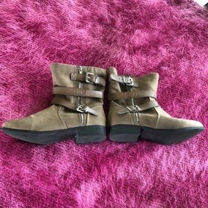 Sale Torrid Strappy Ankle Boots Size 10